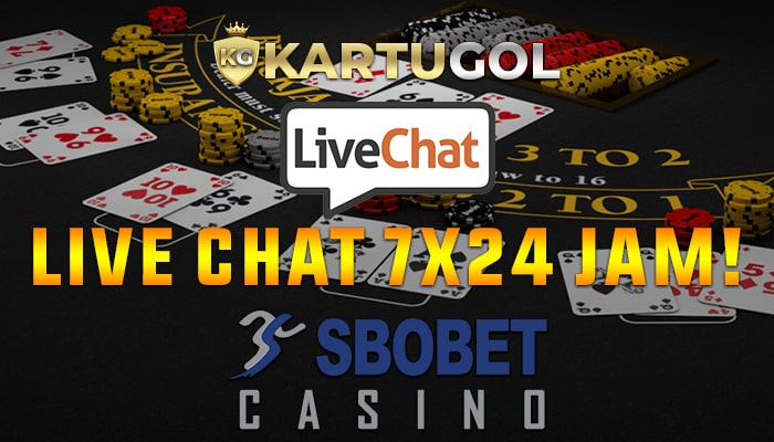 Live Chat Sbobet Casino Online Disertai Cs Handal Kartugol
